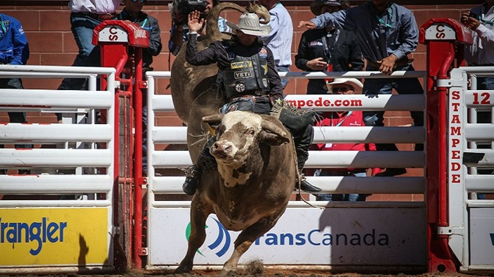 Calgary Stampede Hansen And Wing Advance The